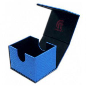 Boites de Rangements  Deck Box - Dragon Hide - Hoard V2 - Blue