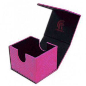 Boites de Rangements  Deck Box - Dragon Hide - Hoard V2 - Pink