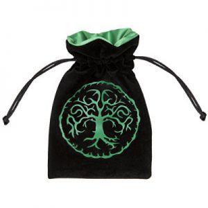 Dés et compteurs Accessoires Pour Cartes Petit Sac - Dice Bag - Forest Black - ACC