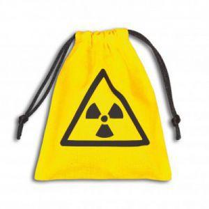 Dés et compteurs Accessoires Pour Cartes Petit Sac - Dice Bag - Nuke Yellow - ACC