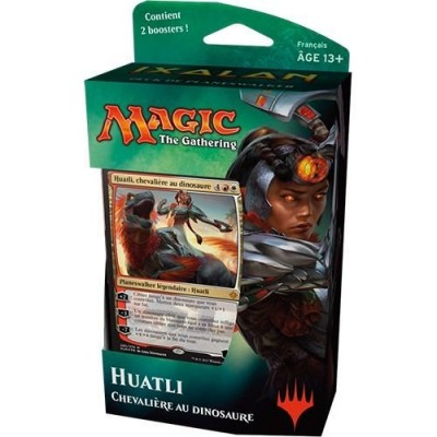 Decks Préconstruits Magic the Gathering Ixalan - Huatli, Chevalière Aux Dinosaure - Planeswalker Deck
