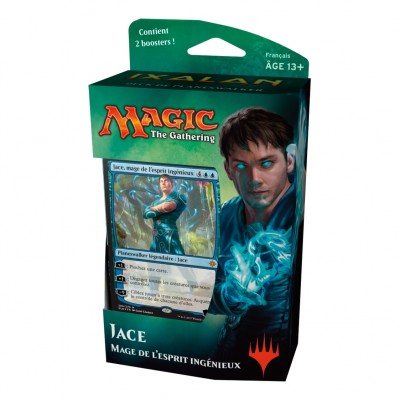 Deck Magic the Gathering Ixalan - Jace, Mage De L'esprit Ingénieux - Planeswalker Deck