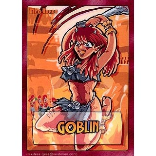 Tokens Magic Magic the Gathering Token/jeton - Manga - Gobelin