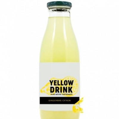 Confiseries Accessoires Pour Cartes Boisson - Yellow Drink - Gingembre/citron