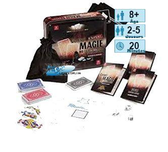 Jeux de Magie Petits Jeux Jeux de Magie - Coffret Expert Magie 80 Tours