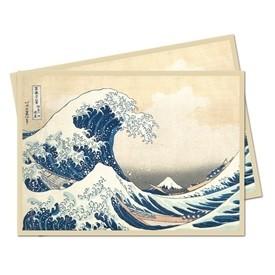Protèges Cartes illustrées 65 Pochettes - Fine Art - The Great Wave Off Kanagawa