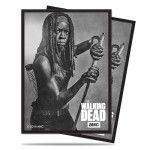 Protèges Cartes illustrées Accessoires Pour Cartes 50 Pochettes - The Walking Dead Michonne