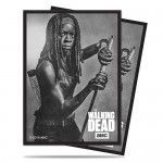 Protèges Cartes illustrées  50 Pochettes - The Walking Dead Michonne