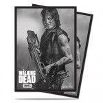 Protèges Cartes illustrées Accessoires Pour Cartes 50 Pochettes - The Walking Dead Daryl