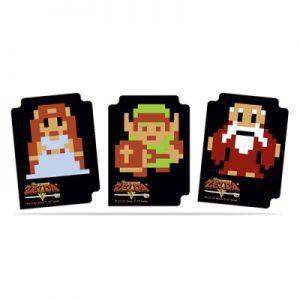 Boites de rangement illustrées 15 Séparateurs De Cartes - Zelda 8-bit