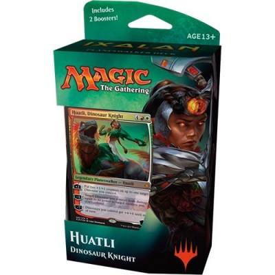 Decks Préconstruits Magic the Gathering Ixalan - Huatli, Dinosaur Knight - Planeswalker Deck