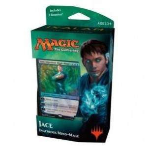 Decks Préconstruits Magic the Gathering Ixalan - Jace, Ingenious Mind-mage - Planeswalker Deck - (en Anglais)
