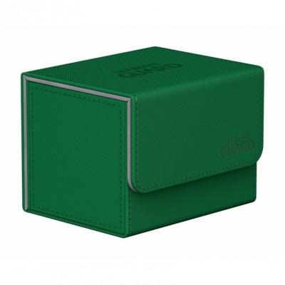 Boites de Rangements Accessoires Pour Cartes Deck Box Ultimate Guard - Vert - Sidewinder 100+
