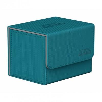 Boites de Rangements Accessoires Pour Cartes Deck Box Ultimate Guard - Bleu Pétrole - Sidewinder 100+