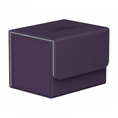 Boites de Rangements Accessoires Pour Cartes Deck Box Ultimate Guard - Violet - Sidewinder 100+