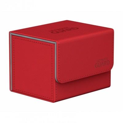 Boites de Rangements Accessoires Pour Cartes Deck Box Ultimate Guard - Rouge - Sidewinder 100+