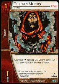 Marvel Origins - Cartes Vs System MOR-122 - Moines Tibétains (C) - Vs System