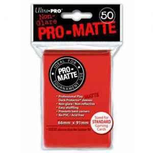 Protèges Cartes Accessoires Pour Cartes 50 pochettes Ultra Pro Matte - Peach - ACC