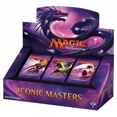 Boites de Boosters Iconic Masters