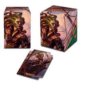 Boites de rangement illustrées  Ixalan - Deck Box - Vraska, Relic Seeker