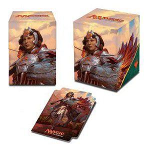 Boites de rangement illustrées Ixalan - Deck Box - Huatli, Warrior Poet