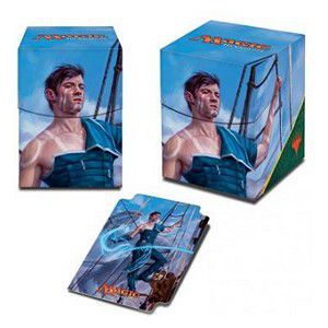 Boites de rangement illustrées Accessoires Pour Cartes Deck Box Ultra Pro - Ixalan - Jace, Cunning Castaway - Acc
