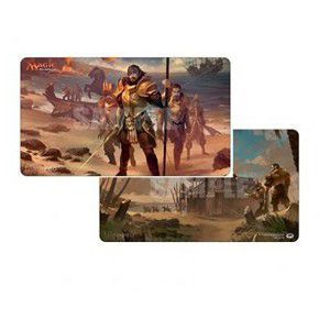 Tapis de Jeu Magic the Gathering Playmat - Ixalan - Legion's Landing / Adanto, The First Fort - Recto-verso