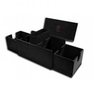 Boites de Rangements Accessoires Pour Cartes Deck Box - Dragon Hide - Vault V2 - Black