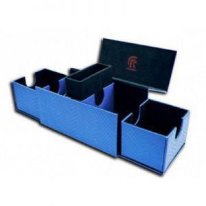 Boites de Rangements Accessoires Pour Cartes Deck Box - Dragon Hide - Vault V2 - Blue
