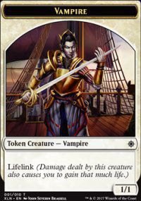 Tokens Magic Magic the Gathering Token/jeton - Ixalan - 01/10 Vampire
