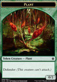 Tokens Magic Accessoires Pour Cartes Token/jeton - Ixalan - Plante