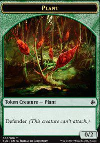 Tokens Magic Magic the Gathering Token/jeton - Ixalan - 06/10 Plante