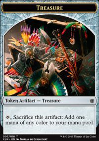 Tokens Magic Accessoires Pour Cartes Token/jeton - Ixalan - Tresor 7/10