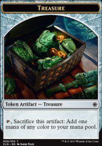 Tokens Magic Accessoires Pour Cartes Token/jeton - Ixalan - Tresor 9/10