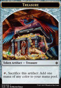 Tokens Magic Accessoires Pour Cartes Token/jeton - Ixalan - Tresor 10/10