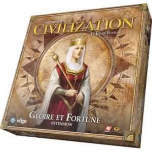 Thème : Médiéval Jeux de Plateau Civilization - Extension: Gloire et Fortune