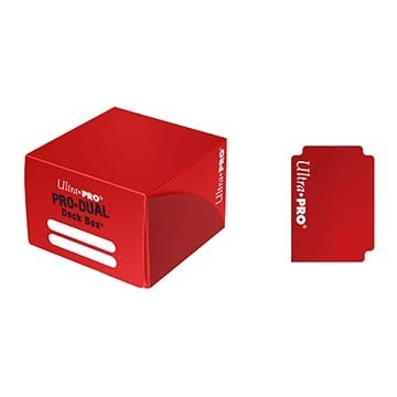 Boites de Rangements Accessoires Pour Cartes Pro Dual 180 - Rouge