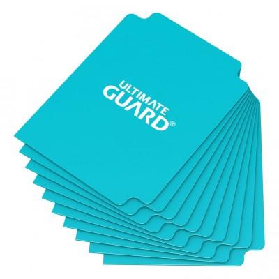 Boites de Rangements Card Dividers - 10 Séparateurs De Cartes - Aigue-marine