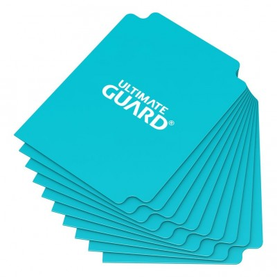 Boites de Rangements  Card Dividers - 10 Séparateurs De Cartes - Aigue-marine