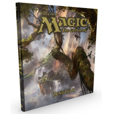 Livres Magic the Gathering Livre - Tout l'Art de Magic - ZENDIKAR