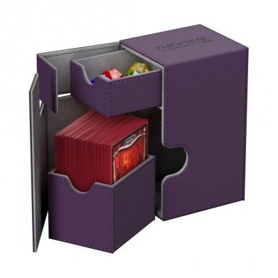 Boites de Rangements Accessoires Pour Cartes Deck Box Ultimate Guard - Violet - T2 - Acc