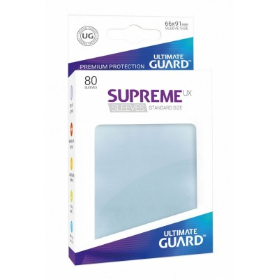 Protèges Cartes 80 Pochettes - Supreme Ux - Transparent