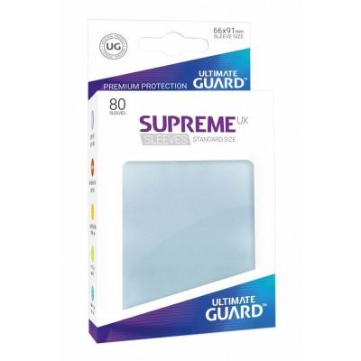 Protèges Cartes Accessoires Pour Cartes 80 Pochettes - Supreme Ux - Transparent