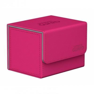 Boites de Rangements Accessoires Pour Cartes Deck Box Ultimate Guard - Rose - Sidewinder 100+