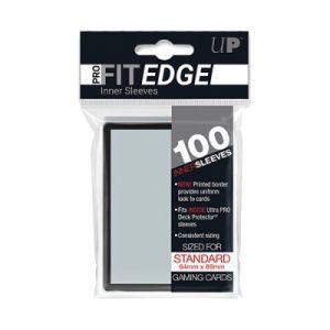 Protèges Cartes  100 pochettes - Pro Fit Edge - Bord Noir