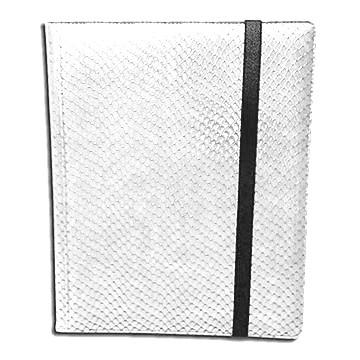 Classeurs et Portfolios Accessoires Pour Cartes Portfolio Legion - A4 Dragonhide Binder 9 Cases - Blanc - Acc