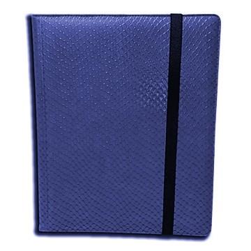 Classeurs et Portfolios  Binder - Dragon Hide - 9 Cases - Blue