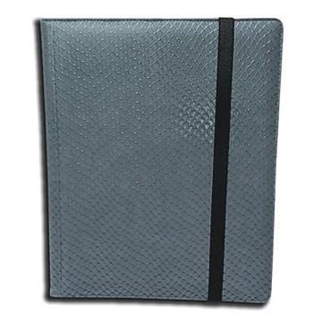 Classeurs et Portfolios Accessoires Pour Cartes Binder - Dragon Hide - 9 Cases - Grey