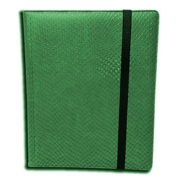 Classeurs et Portfolios  Binder - Dragon Hide - 9 Cases - Green