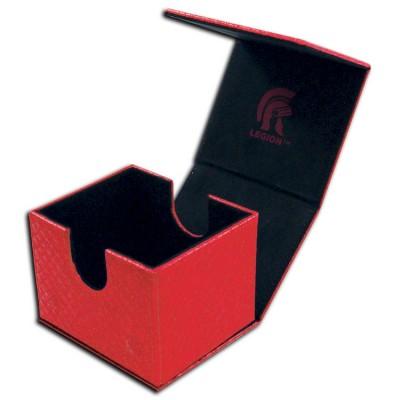 Boites de Rangements Accessoires Pour Cartes Deck Box - Dragon Hide - Hoard V2 - Red